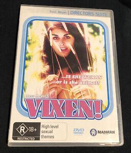 RUSS MEYER'S VIXEN DVD DIRECTOR'S SUITE (Region 4) Australia RARE