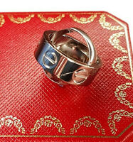 CARTIER ASTRO LOVE RING ANHÄNGER Gr.52 LIMITED EDITION BAGUE 18K./750 WHITE GOLD