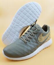 newest b4409 19bff Nike Roshe Tiempo VI Quickstrike SIZE 8.5 Men Khaki Running Shoes 853535-200