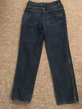 Basic Editions Women's Relaxed Fit Blue Jeans Measure 28 X 31        F44