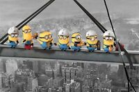 PP33512 Despicable Me (Minions Lunch on a Skyscraper  Maxi Poster 61cm x 91.5cm