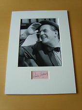 Stanley Holloway Genuine Autograph - UACC / AFTAL.