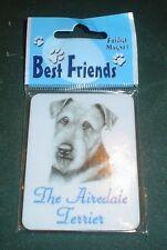 Lovely Airedale Terrier Fridge Magnet