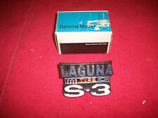 1974 Chevy Laguna Type S-3 NOS Grille Emblem in GM box 345214
