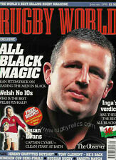 Rugby World Magazine Enero De 1998-Bracknell, Exeter, Swansea, avispas