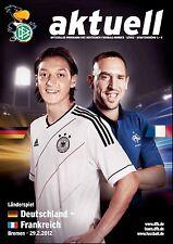 Länderspiel 29.02.2012 Deutschland - Frankreich / France in Bremen