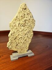 Unusual antique / vintage chinese stone with the stand