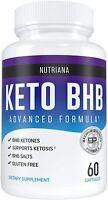 KETO BHB Advanced Weight Loss Diet from Shark Tank, Keto Pills by NUTRIANA