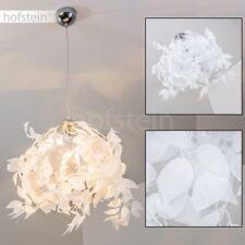 LED Decken Hänge Lampe Textil schwarz gold Wohn Ess Zimmer Beleuchtung EEK A+