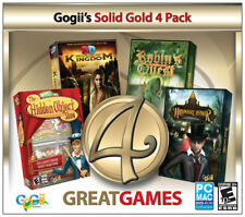 Gogii's Solid Gold 4 Pack Escape the Lost Kingdom Hidden Object Show NEW