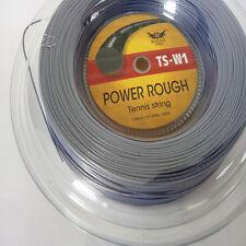Same as LUXILON brand alu power rough Kelist tennis string reel 200m Grey color