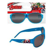 CAPITAN AMERICA occhiali da sole azzurri in plastica 100% protezione UV +3