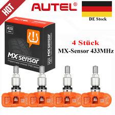 4 x Autel MX-Sensor 433 MHz Universal Reifendruck Sensor TPMS RDKS Programmier