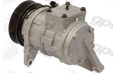 Global Parts Distributors 6511529 New Compressor And Clutch