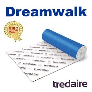 cheap price TREDAIRE DREAMWALK 11mm carpet underlay FREE DELIVERY most areas