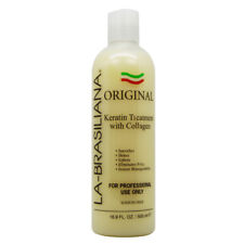 La-Brasiliana Original Keratin Treatment with Collagen 16.9oz w/Free Nail File