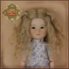 HD0034A Ten Ping Brown Mohair Wig  Ruby Red Galleria Doll fits Tonner Tyler