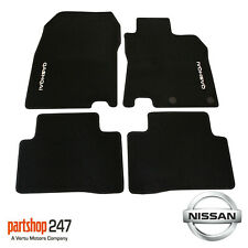 For Nissan Qashqai J11E 2014 on Velour Carpet Car Floor Mats x4 KE755HV001