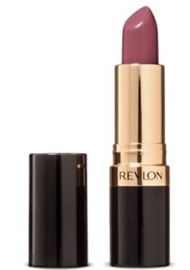 revlon super  lustrous creme lipstick sassy mauve avocodo oil vitamin e 0.15oz