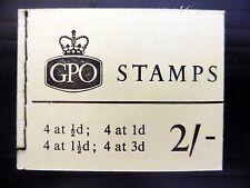 GB 1964 Oct 2/- Wilding Booklet N18p Phosphor SEE BELOW NEW PRICE FP8347