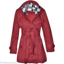 Manteaux, vestes et tenues de neige rouge à manches longues en polyester pour fille de 2 à 16 ans