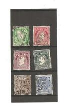 Ireland 6 Definitive Stamps, 1922.