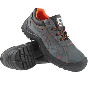 MENS SAFETY TRAINERS SHOES LADIES BOOTS WORK STEEL TOE CAP HIKER ANKLE SIZE
