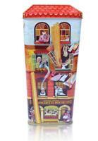 Tin Bread Box Storage Box Spaghetti Size, New, 32 CM