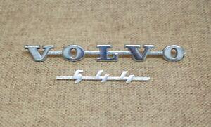 Original VOLVO PV544 Back Badge / Emblem
