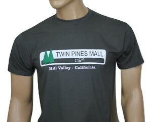 Back to the Future 80s inspired mens film t-shirt - Twin Pines Mall