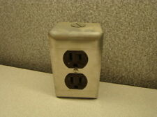 Receptacles Outlet Box, Duplex, Brown