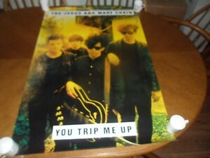 JESUS AND MARY CHAIN .YOU TRIP ME UP .PROMO 1985 POSTER