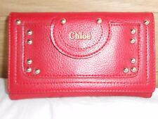 Chloe red Wallet Purse