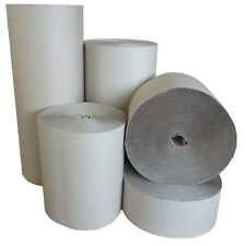 Rollen Wellpappe 50 cm breit x 70 m B-Welle grau Wellpapprolle Polstermaterial