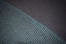 Green and Black Twisted-Weave Wool Jacketing/Coating from Woolrich!