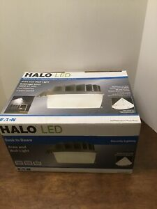 Halo Bronze Outdoor Integrated LED Security Wall and Area Light AL1550LPCH