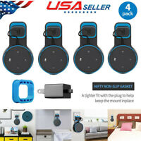4 Pack Echo Dot Wall Mount Stand Holder &Cable For Amazon Alexa Echo Dot 2nd Gen