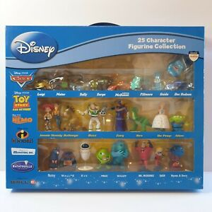 Disney 25 character figurine collection new  Cars Toy Story finding nemo
