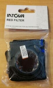 Intova Red Filter for Underwater Camera X2 HD2 DUB Saltwater Diving I-RED2 NEW