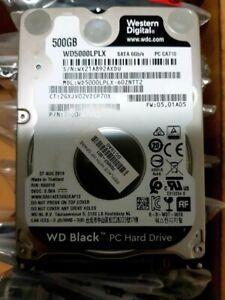 """500GB Western Digital WD5000LPLX 2.5"""" WD Black 7mm slim SATA NEW"""