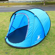 Camping Hiking Easy Setup Outdoor Large Pop Up Tent Quick Shelter CLEARANCE SALE