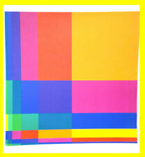 "RICHARD PAUL LOHSE ""6 VERTICALE"" Original Serigraph Poster 22""x18"" 1970´s"