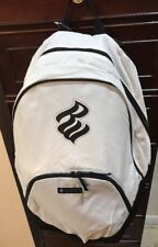 Rocawear Classic White School Bag Back Backpack Single Strap  NWT!
