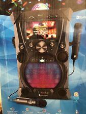 Singing Machine FIESTA Portable Hi-Def Karaoke System  w/Built-In LCD Monitor