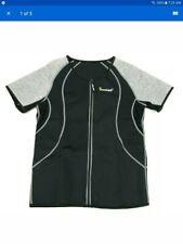 Sunlan Men's Weight Loss Workout Neoprene Top Training Body Shaper Shirt Size Xl