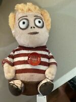 The Addams Family Squeezers Musical Theme Song Plush Figure Pugsley Doll NEW