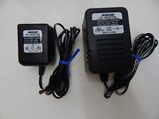 AHEAD AC Adapter Model ADC-0600600 6V & AHEAD Power Cord MW35-0900300 9V