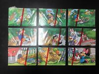 Disney Puzzle chip Phone Card Full Set album limited edition original Mickey