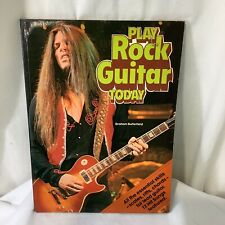 Play Rock Guitar Today by Graham Butterfield Paperback 1979 Good Con
