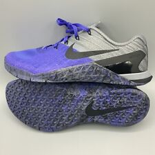 Nike Metcon 3 Persian Violet Training Shoes Womens size 8.5 (849807-500)